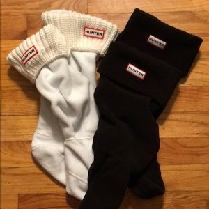 2 Pairs of Tall Hunter Boot Socks